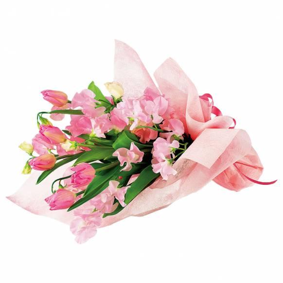 花キューピット加盟店 店舗名:札幌花ふじ フラワーギフト商品番号:111014 商品名:花束