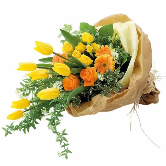 花キューピット加盟店 店舗名:札幌花ふじ フラワーギフト商品番号:111021 商品名:花束