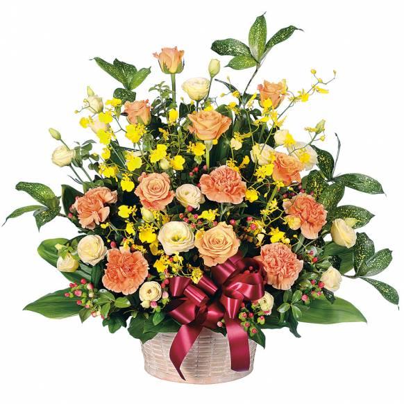 花キューピット加盟店 店舗名:札幌花ふじ フラワーギフト商品番号:511500 商品名:アレンジメント