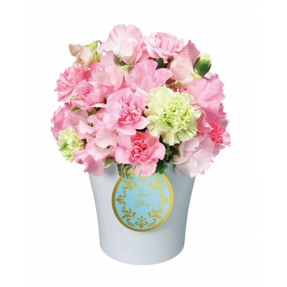 花キューピット加盟店 店舗名:札幌花ふじ フラワーギフト商品番号:511932 商品名:アレンジメント