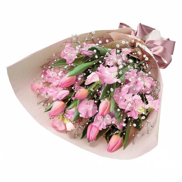 花キューピット加盟店 店舗名:札幌花ふじ フラワーギフト商品番号:511934 商品名:花束